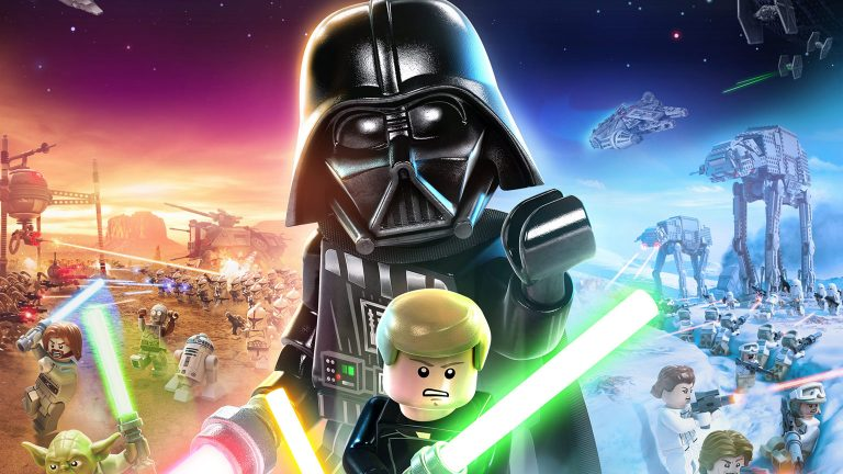 Cover art, screencaps released for 'Lego Star Wars: The Skywalker ...