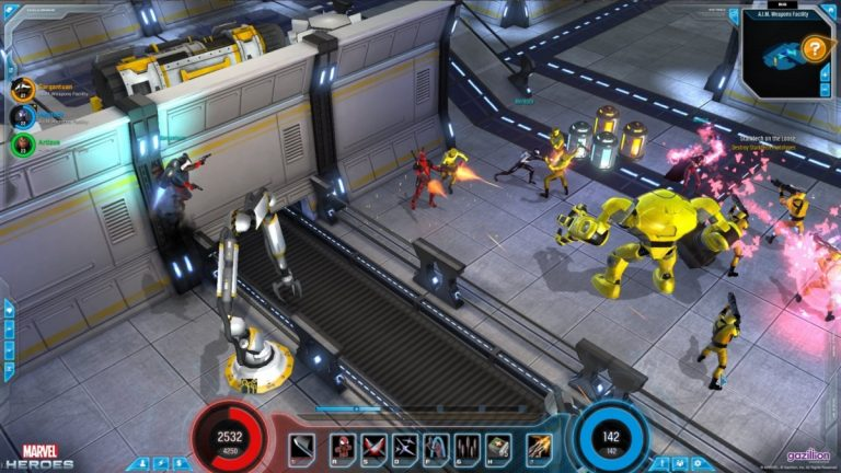 Marvel Heroes – обзоры и оценки игры, даты выхода DLC, трейлеры ...