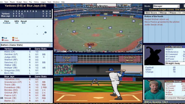 Baseball Mogul 2018 Gameplay (Pc Game). - YouTube