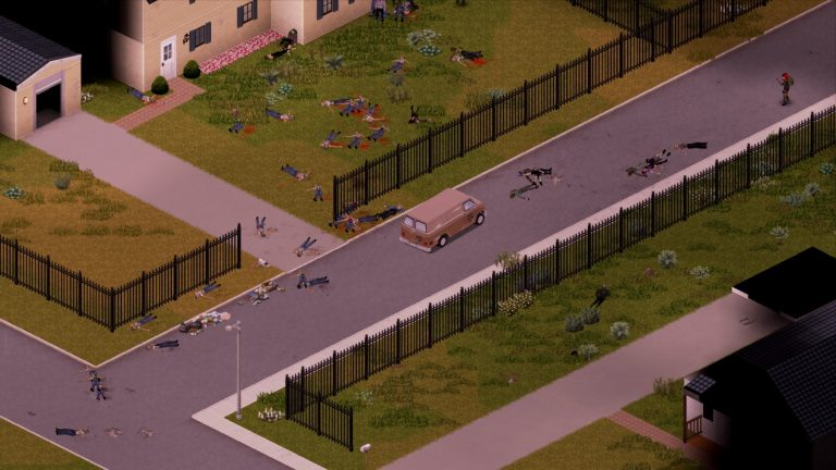 So, I've been playing build 41 with superb survivors and stumbled into,  well, this.: projectzomboid