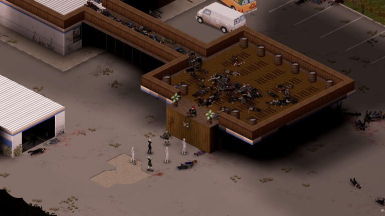 Guys how can I clear all this corpse? There is a easy way to do it? (Except  burn it): projectzomboid